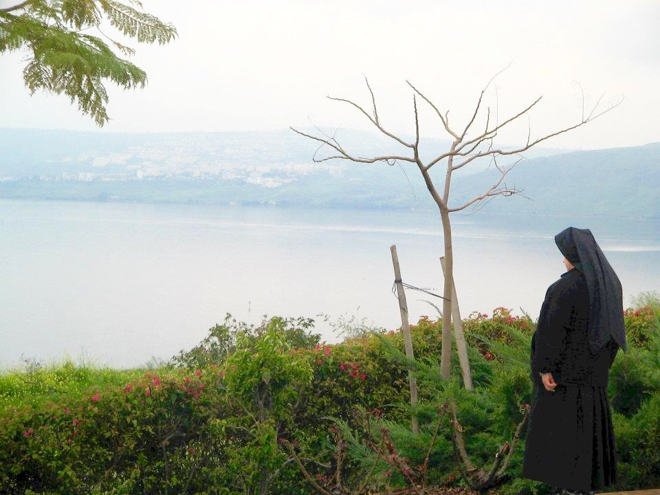 This is a photo of the Sea of Galilee that I took several years ago during a pilgrimage to Israel.