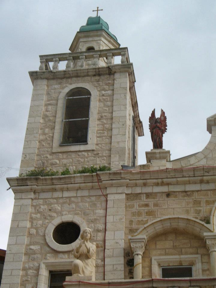 Church of Cana in Israel